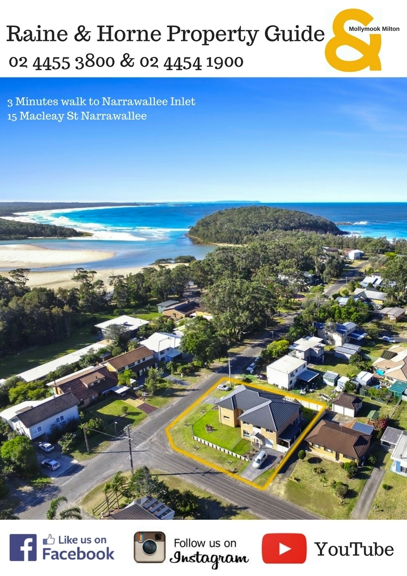 Raine & Horne Mollymook Milton Property Guide